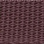 "1"" Brown Lightweight Polypropylene Webbing"