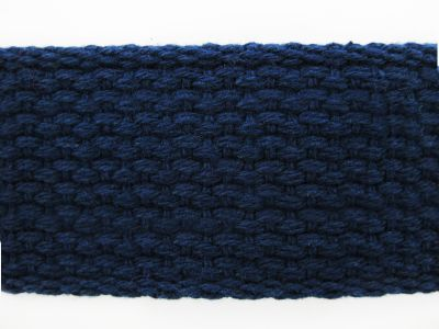 "1.5"" Navy Lightweight Cotton Webbing"