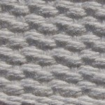 "1.5"" White Lightweight Cotton Webbing"