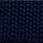 "1.25"" Navy Heavyweight Cotton Webbing"