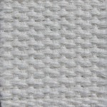 "1.25"" White Heavyweight Cotton Webbing"